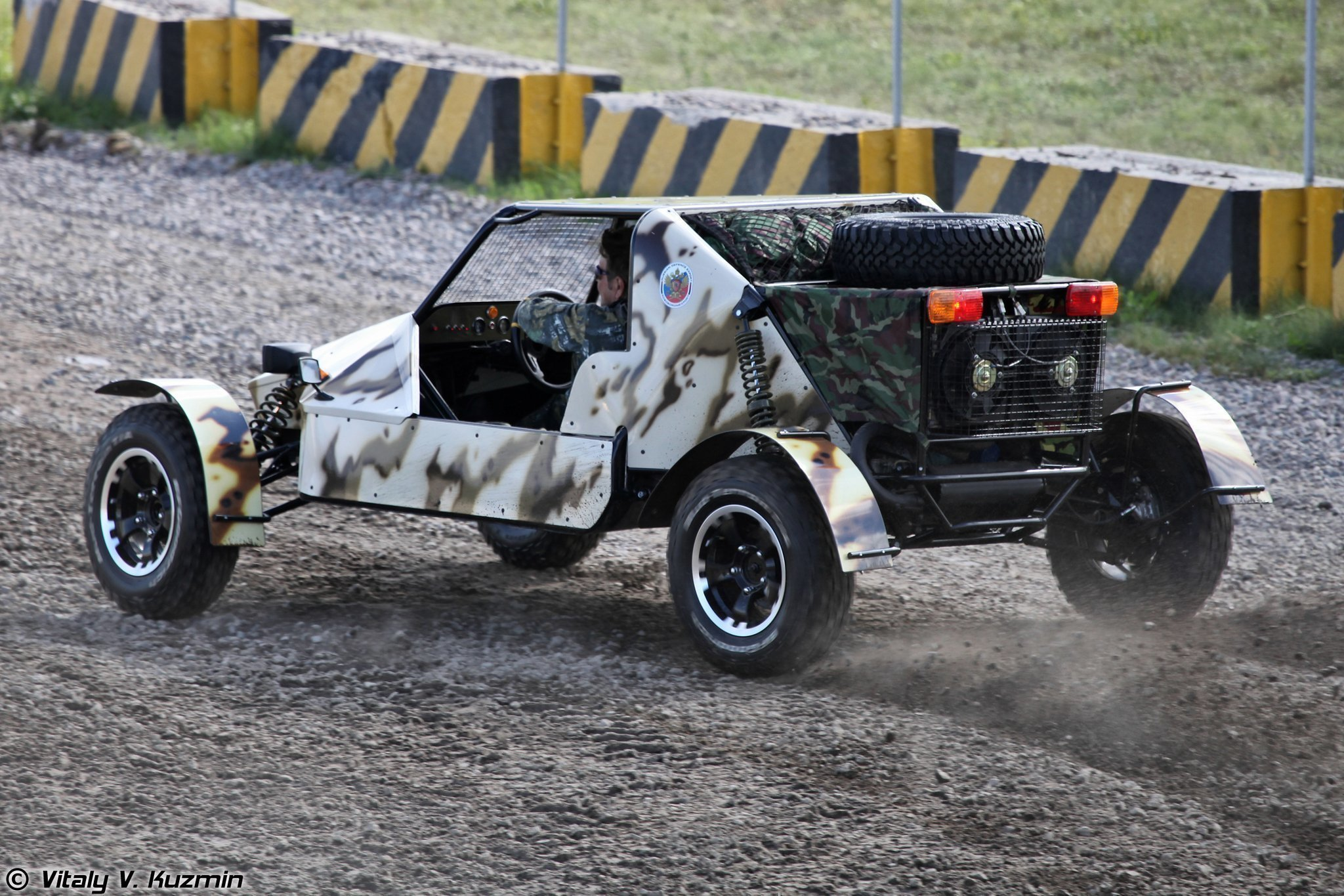 Волжский автомобильный завод построил багги для бойцов «Росгвардии»