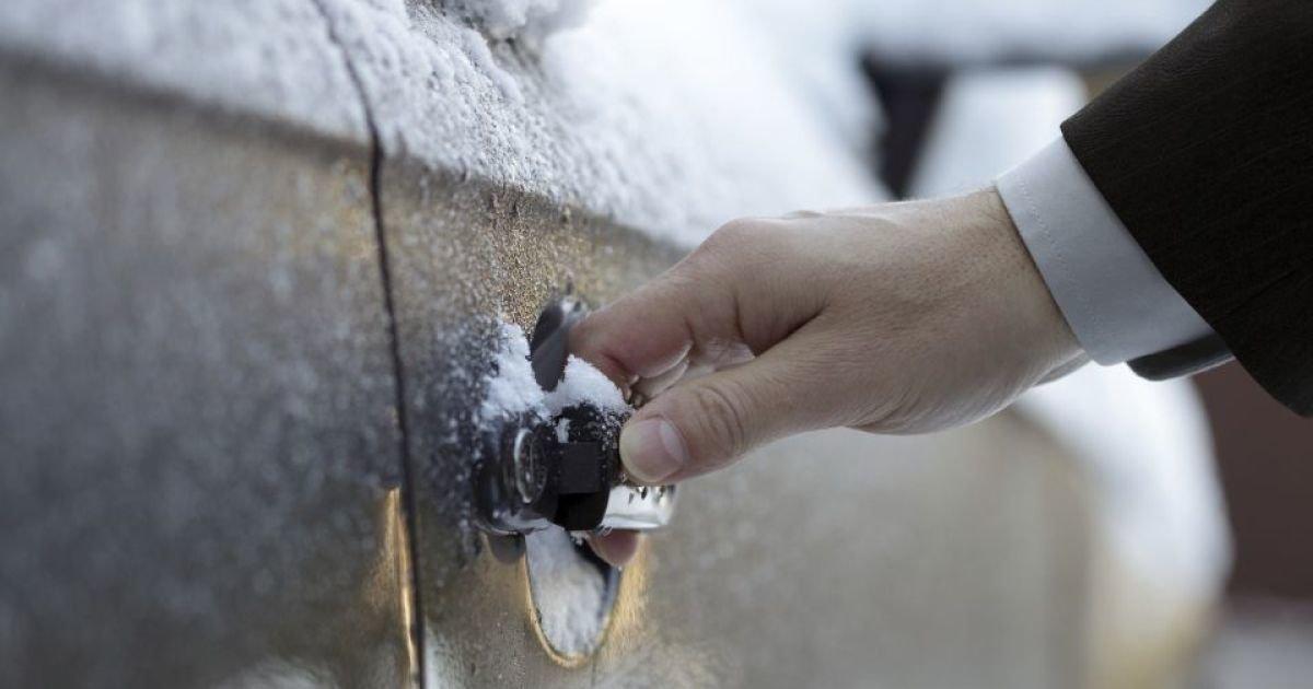 11 OmV9Ett - Чтобы резинки дверей не примерзали