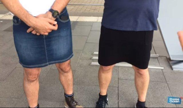 ВБритании школьники надели юбки вкачестве протеста против запрета шорт