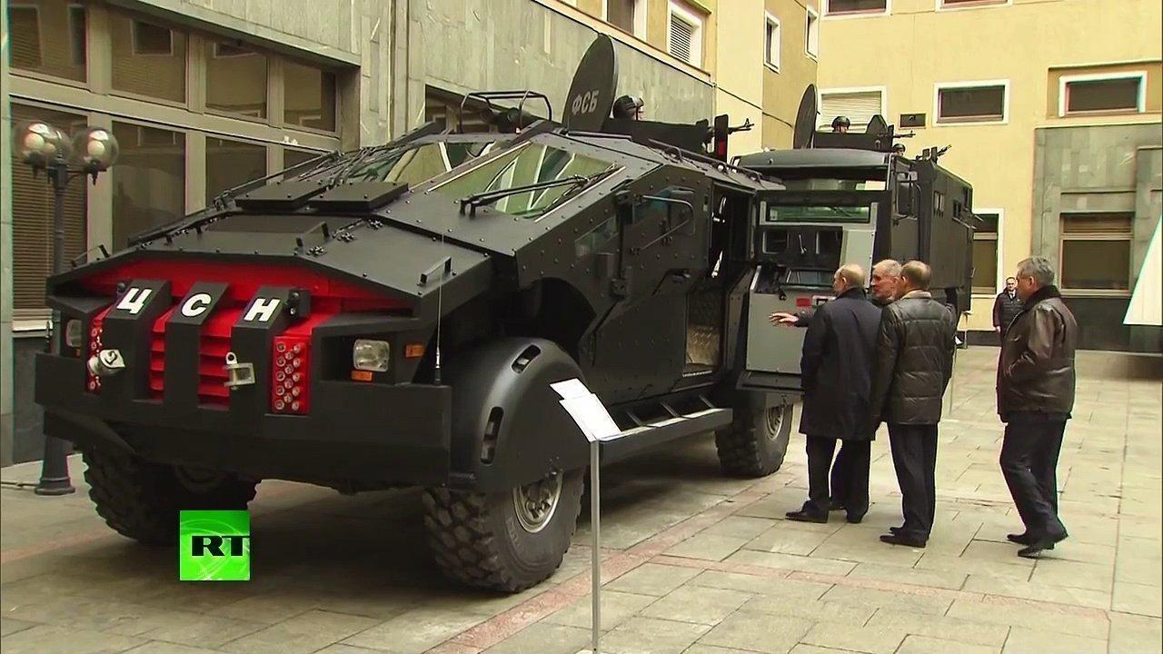 Стали известны характеристики секретного броневика ФСБ РФ «Фалькатус»