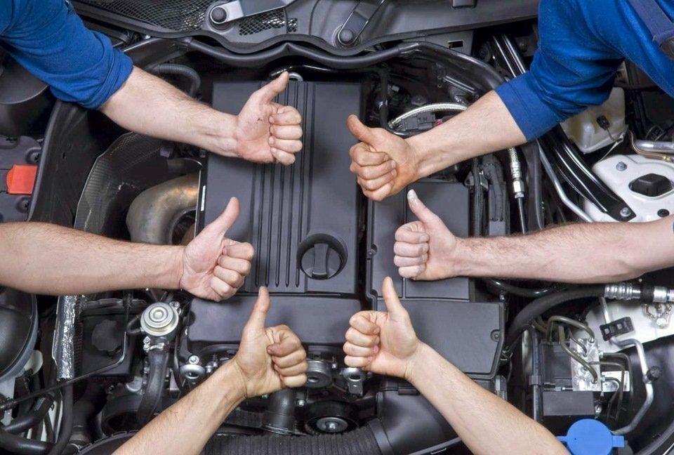 Обслуживание мотора