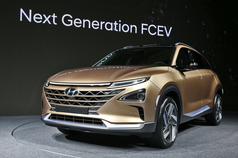 Hyundai представила водородный кроссовер с необычным дизайном