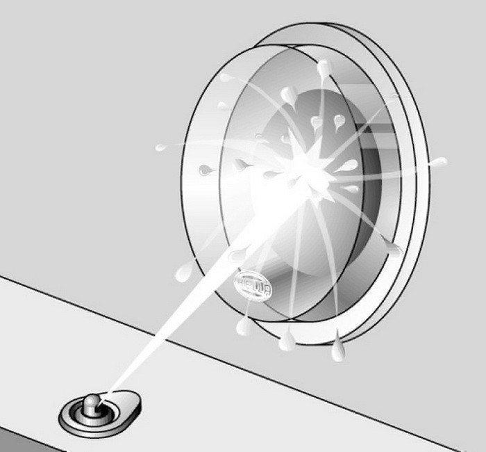 Система омывателя лобового стекла