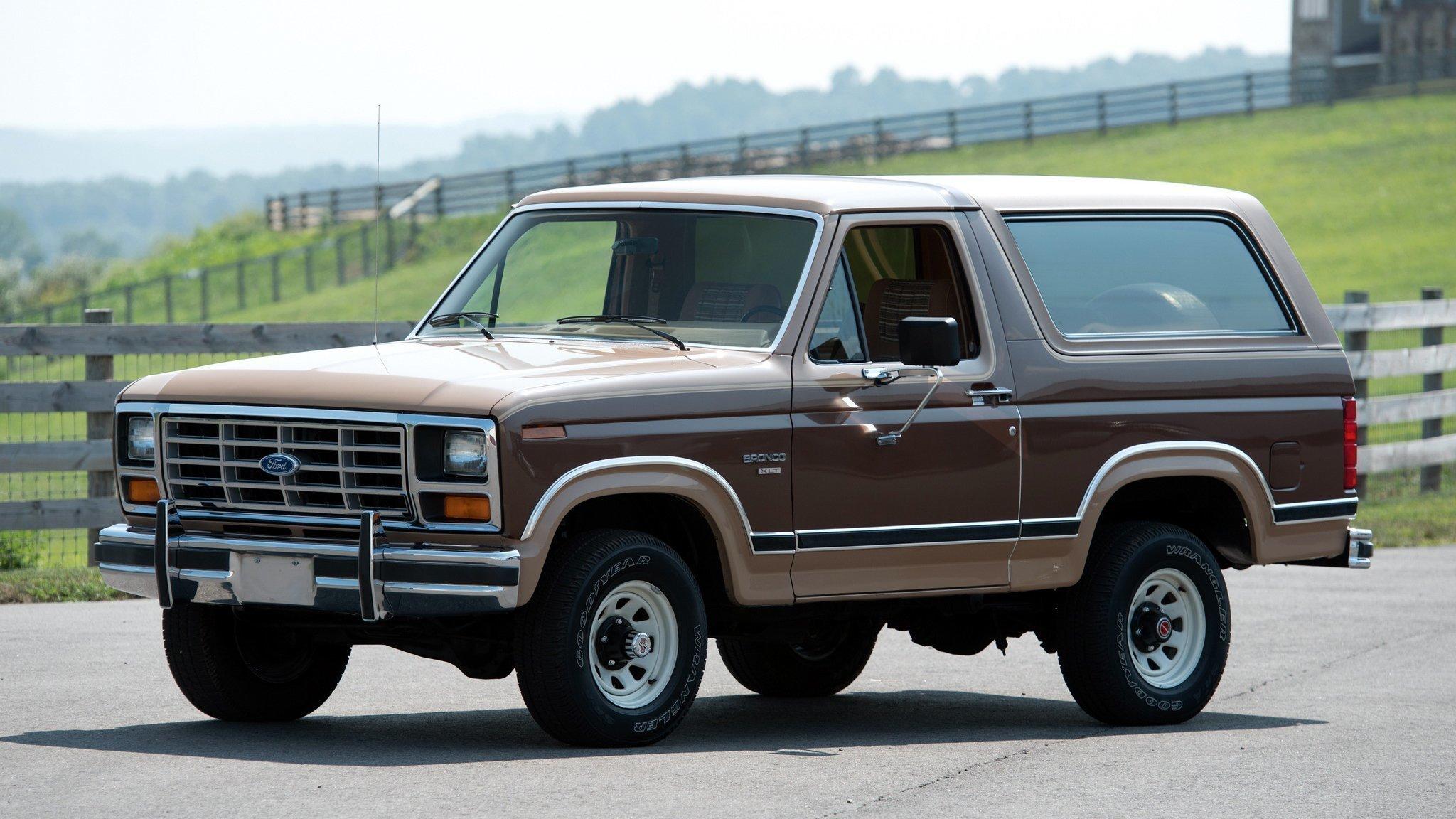 Ford официально заявил овозрождении внедорожника Bronco к 2020 году