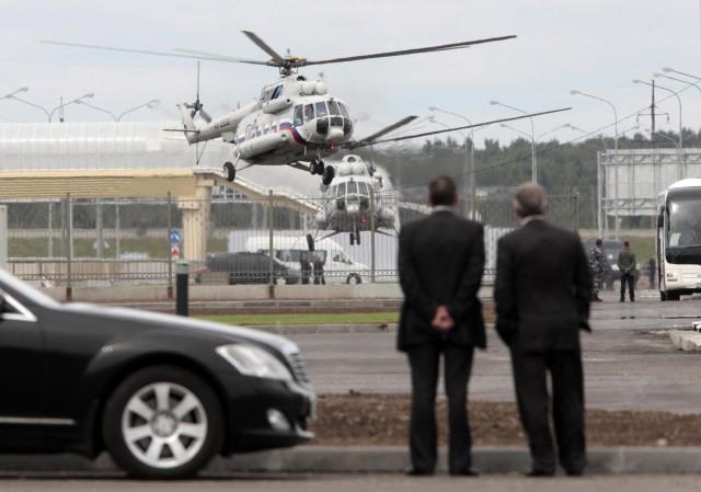 Владимир Путин полетит вБалашиху навертолете из-за пробок