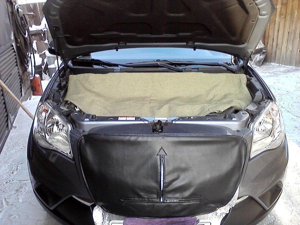 Утепление автомобиля к зиме