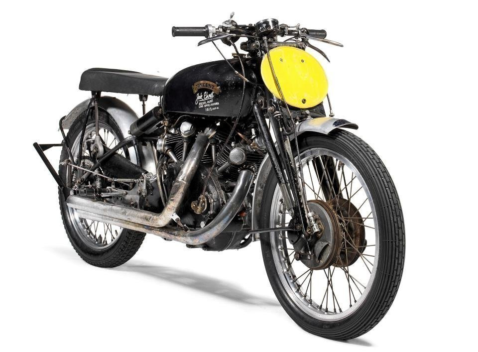 Мотоцикл Vincent Black Lightning возрастом 67 лет продан $1 млн нааукционе