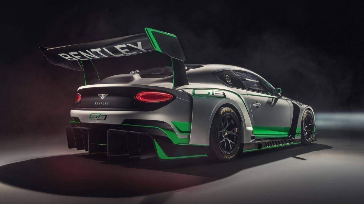 Bentley Continental GT3 споллер
