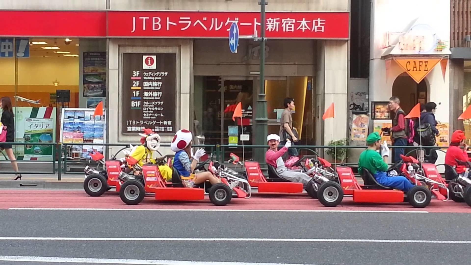 Милиция Токио призвала организаторов картинг-туров обеспечить безопасность туристов