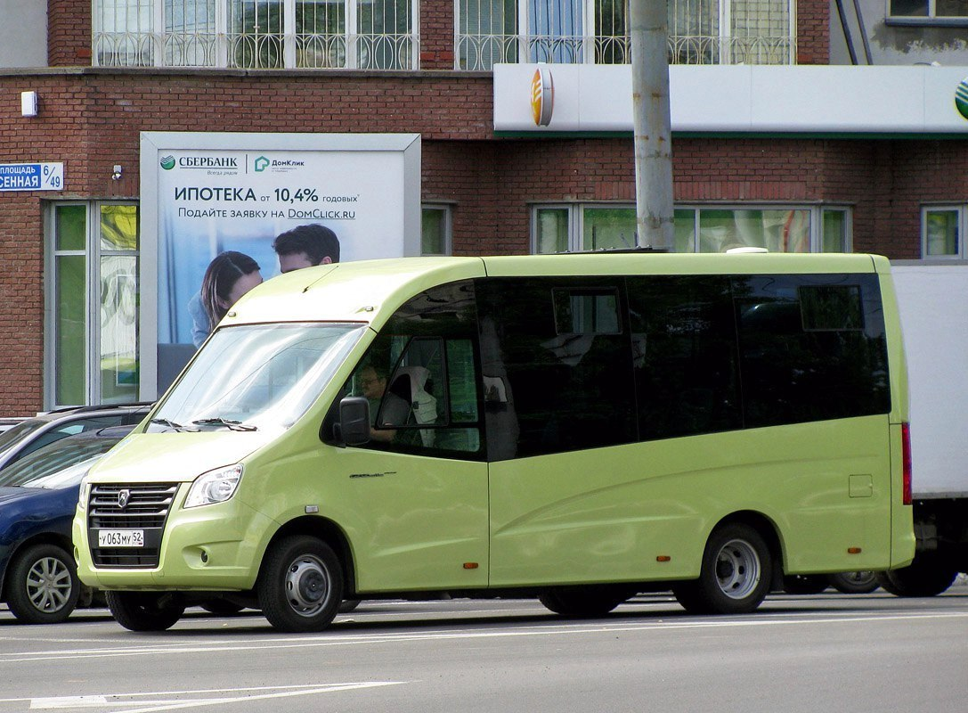 Новая городская маршрутка отГАЗ замечена на трассах Российской Федерации